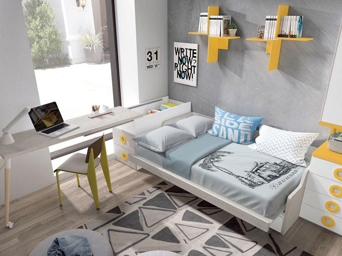 Dormitorios juveniles en Murcia, 1-1