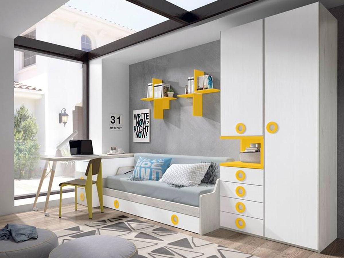 Dormitorios juveniles en Murcia, 1