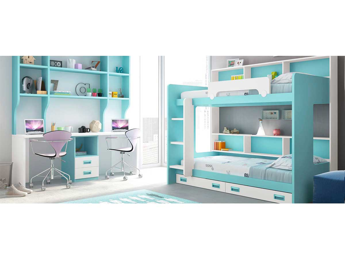 Dormitorios juveniles en Murcia, 23-2